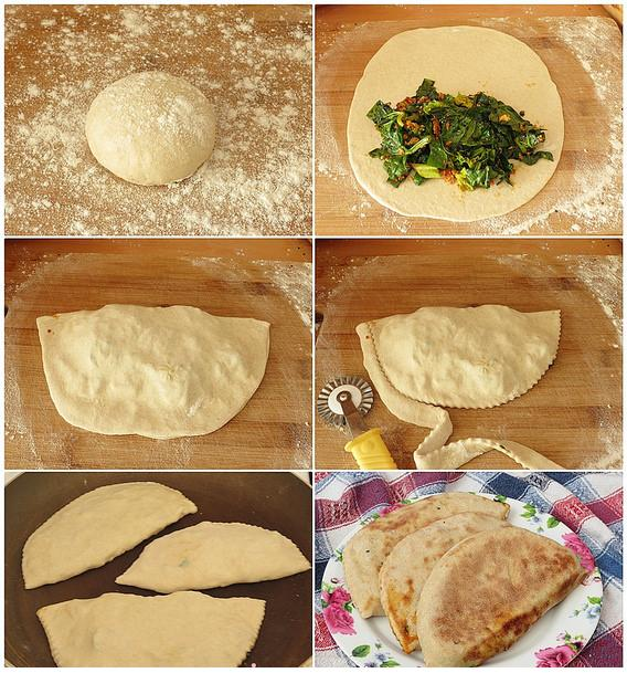 ıspanaklı sac böreği tarifi