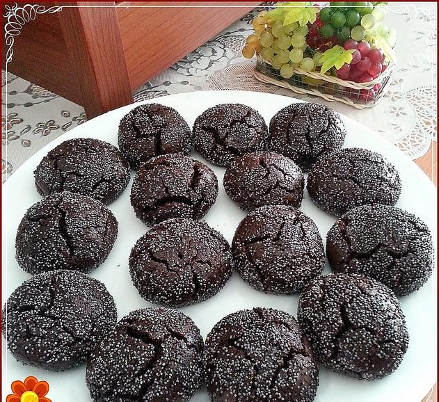 şerbetli kakaolu kurabiye tarifi