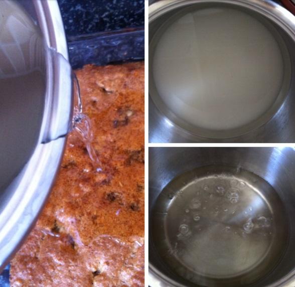 Pamuk Pasta veya Kıbrıs Pastası aşamaları 2
