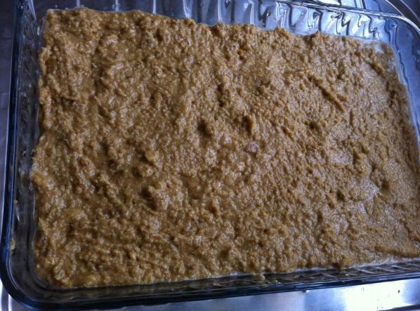 Pamuk Pasta veya Kıbrıs Pastası aşamaları