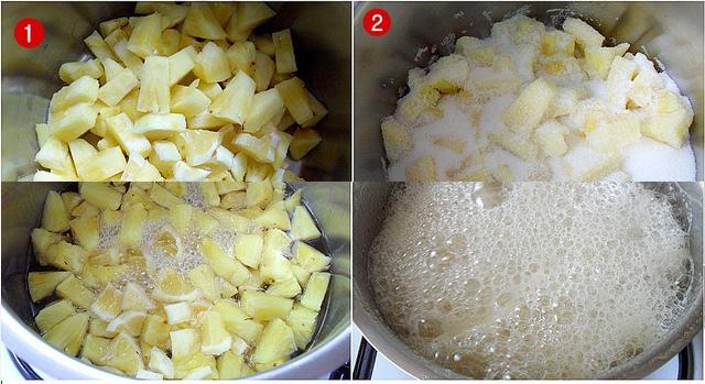 ananas reçeli tarifi