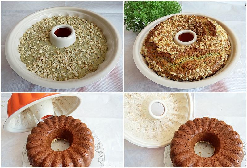fındık ve haşhaşlı kek yapımı