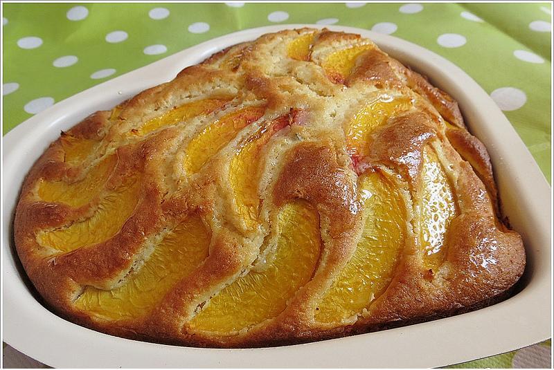 kalıpta şeftalili kek tarifi