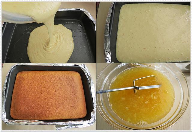 meyveli ıslak kek yapımı