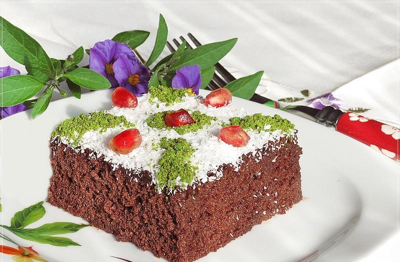 narlı ıslak kek