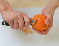 portakalı soyun