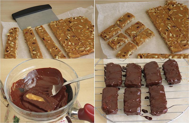 snickers çikolata tarifi