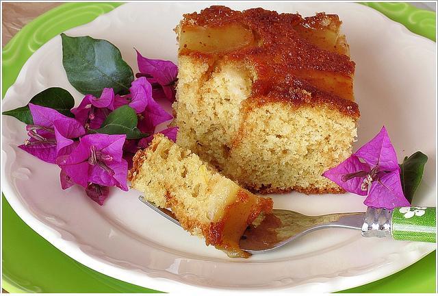 tarçın ve elmalı kek yapımı