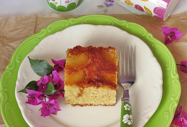 tarçın ve elmalı kek