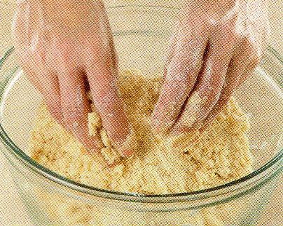 Malzemeleri ekmek kırıntısı