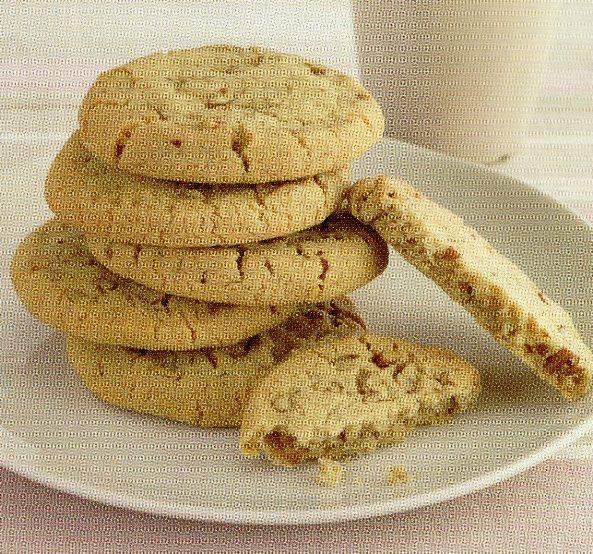 amerikan cevizli kumlu kurabiye