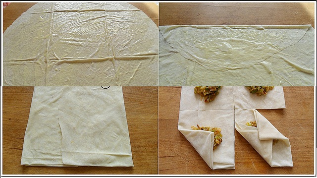 pirinçli zarf böreği