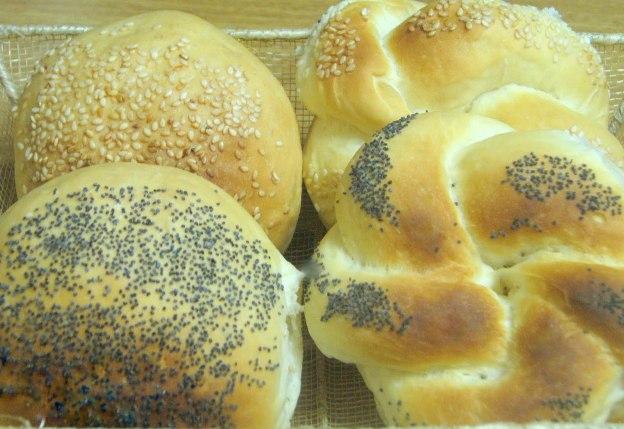 pofufuk yuvarlak ekmek