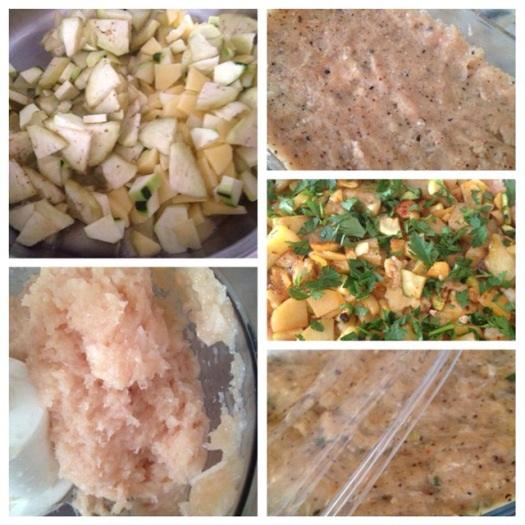 sebzeli tavuk böreği yapılışı