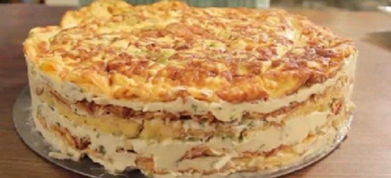 Krem Peynirli Rulo Pasta