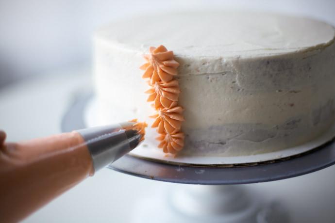 aslan kek kremayı sıkma