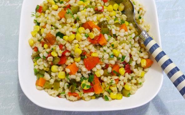 Buğday Salatası yapılışı