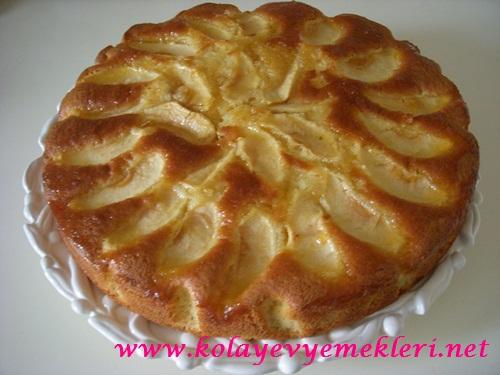 Elmalı Portakallı Kek Tarifi