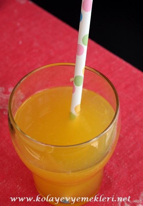 Portakallı ve Limonlu İçecek Tarifi