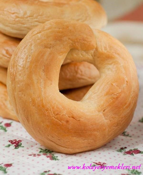 bagel amerikan ekmeği