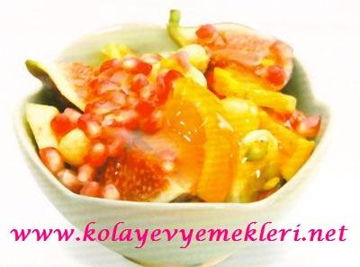 ballı salata tarifi