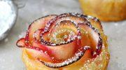 Gül Şeklinde Elmalı Tatlı Nasıl Yapılır