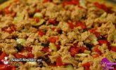 Ton Balıklı Kırmızı Biberli Pizza Tarifi