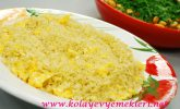 Yumurtalı Pilav Tarifi