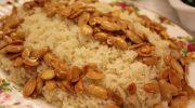 Bademli Pirinç Pilavı Tarifi