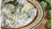 Dereotlu Brüksel Lahanası Salatası Tarifi