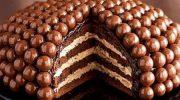 Draje Çikolata ve Tarçınlı Yaş Pasta Tarifi