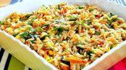 Şehriyeli Sebze Salatası Tarifi