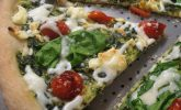 Ev Usulü Ispanaklı Pizza Tarifi