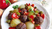 Köfteli Soğan Kebabı Tarifi