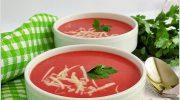 Kaşar Peynirli Kırmızı Pancar Çorbası Tarifi