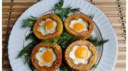 Kahvaltılar İçin Patates İçinde Yumurta Tarifi