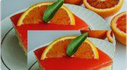 Kırmızı Portakallı Pasta Tarifi