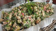Çökelek Peynirli Yaz Salatası Tarifi