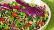 Nar Ekşili Kuru Börülce Salatası Tarifi