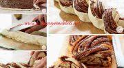 Lezzetli Örgülü Çikolatalı Ekmek Tarifi