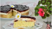 Pandispanya Kekli Vişneli  Yaş Pasta Tarifi