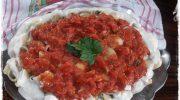 Patlıcan İçli Makarna Tarifi