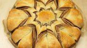 Örgülü Nutellalı Yıldız Ekmek