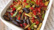 Sebzeli Fırın Yemeği Tarifi