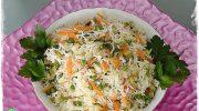 Sebzeli Pirinç Salatası Tarifi