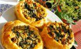 Ispanaklı Bülbül Yuvası Börek Tarifi