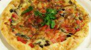 Tavuklu Pizza Börek Tarifi