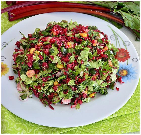 bulgurlu pancar salatası