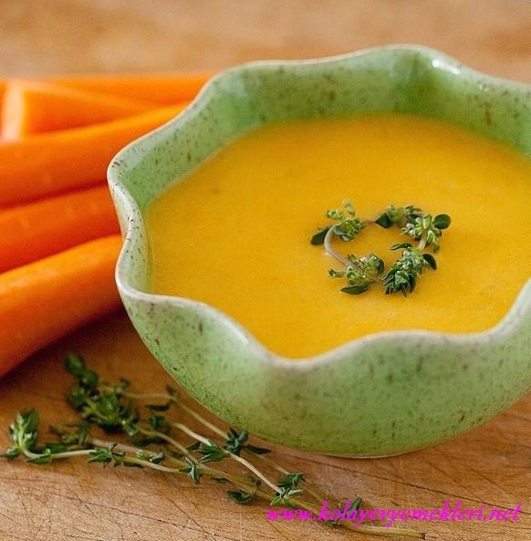 havuç çorbası yapılışı