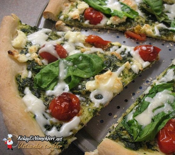 ispanakli-pizza-tarifii